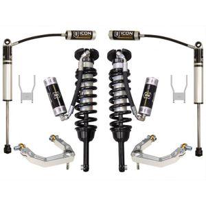 0 - 3in Lift Kit Adjustable Suspension ICON Stage 4 - Toyota Hilux 05-17