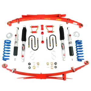 Suspension kit Lift 2in Red Springs - Ford Ranger PXII 15-18