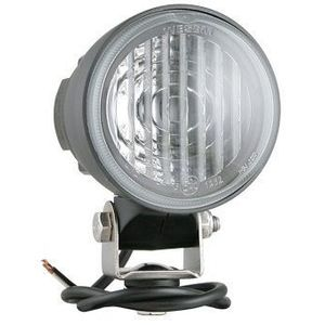 LED fog light  Wesem CDC2 12V-24V - with cable terminated with connector