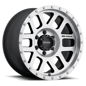 Alloy Wheel 8.5x17in 5x127 ET 0 Machined 306 Method - Jeep Grand Cherokee WK WH