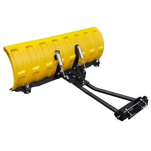 """SHARK Snow Plow 52"""" YELLOW (132 cm) with adapters"""