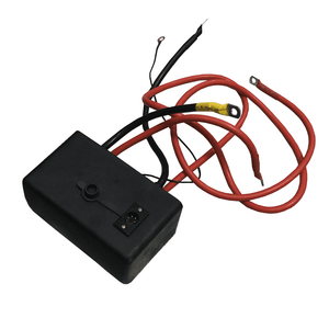 Control module for winch with solenoid (coil-way)
