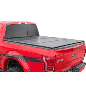 Hard Tri-Fold Bed Cover 5' Rough Country Toyota Tacoma 16-18