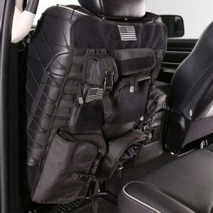 Front Seatback Covers Black Smittybilt G.E.A.R. OFF ROAD UNIVERSAL (pair)