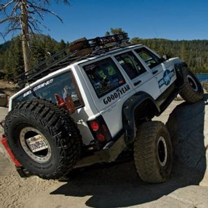 7,5in Extreme Duty Long Arm Lift Kit Rubicon Express - Jeep Cherokee XJ