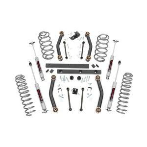 4in Rough Country Lift Kit - Jeep Wrangler TJ 97-02
