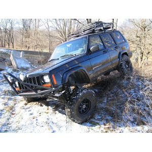 4,5in Rough Country Lift Kit Suspension - Jeep Cherokee XJ